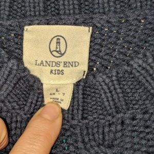 Lands' End Shirts & Tops - Lands end 6x-7 sweater